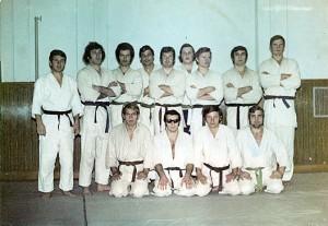 """Echipa de judo de la C.S. """"Politehnica"""", 1974"""