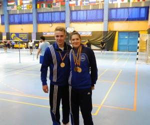 Sportivii sectiei de badminton