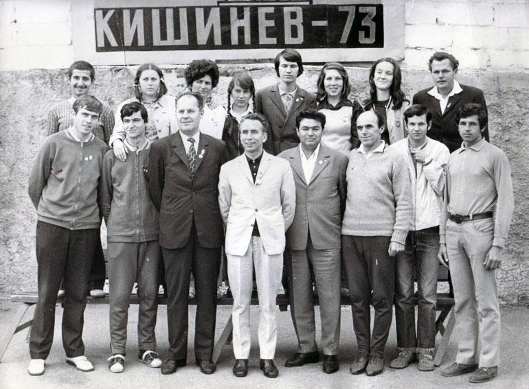 Delegaţia reprezentativa a Iasului la Chişinău in anul 1973